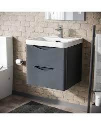 dwight 500mm wall hung basin vanity
