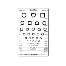 Lea Symbols Eye Chart Printable