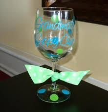 grandma grammy nana s sippy cup custom wine glass