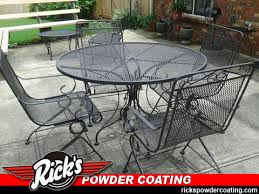 ornamental iron powder coating
