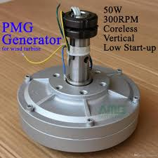 50w 300rpm 12 24vdc low sd low start up for diy permanent magnet coreless generator alternator home wind turbines honeywell wind turbine from energygreen