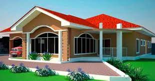 4 bedroom house plans in ghana 6
