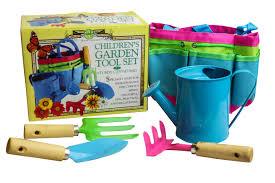childrens garden tools set. New House Of Marbles Children\u0027s Retro Garden Tool Set Shovel Rake Watering Can Childrens Tools G