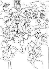 Kleurplaat Mario Luxe Mario Bros Kleurplaten Archidev Kleurplaat
