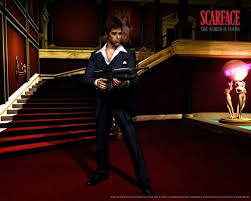 Scarface Wallpaper For Bedroom Scarface The World Is Yours Wallpaper Normal Cloudpix