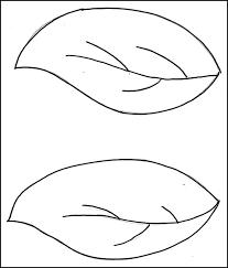 printable leaf