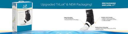 Trilok Ankle Brace Size Chart Trilok Ankle Brace By Bio Skin Ankle Brace Tri Lok