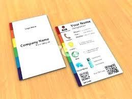 Business Card Social Media Template