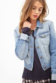 leather sleeve denim jacket forever 21 cairoamani com