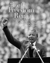 Nelson Mandela Let Freedom Reign Quote Speech Motivational Poster 16x20 Inch
