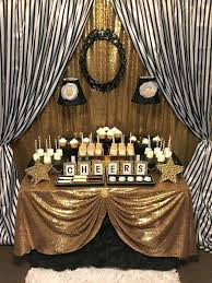 black and gold table decorations full size of city black and gold birthday decorations also black