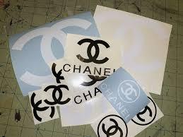 Designer Brand Logo Stickers Chanel Sticker Chanel Stickers Stickers Grab Bags