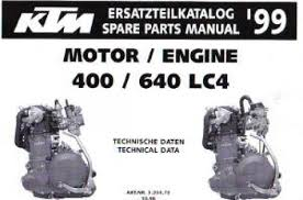 1999 ktm 400 640 lc4 engine spare parts manual repair manuals online official 1999 ktm 400 640 lc4 engine spare parts manual