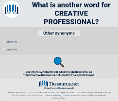 Professional Other Words Synonyms For Creative Professional Thesaurus Net