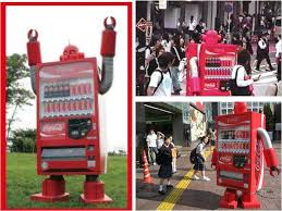 Walking Vending Machine Custom Coca Cola Robot The Old Robots Web Site