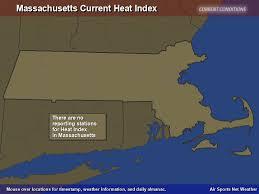 Heat Index Chart Sports Massachusetts Heat Index Map Air Sports Net