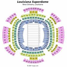New Orleans Saints Seating Chart Mobile Otb