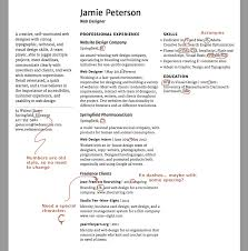 Exercise Resume Attend To The Details Typographic Web Design 3