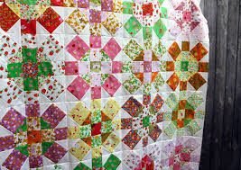 Briar Rose Quilt Top finished | WOMBAT QUILTS & Briar Rose quilt top detail 2 Adamdwight.com