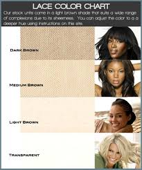 Lace Wig Hair Color Chart Lace Color Chart Lace Frenzy Wigs Hair Extensions