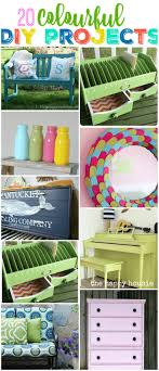 Fun Diy Projects 20 Fun Colourful Diy Projects The Happy Housie