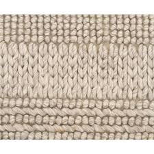 chunky hand braided grey felted wool floor area rug close up image