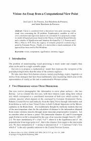 essay point of view thesis support statement thesis support  of view essay point of view essay