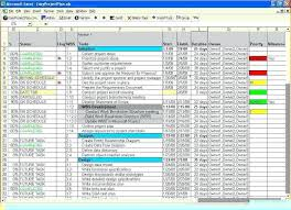 Excel Project Management Tracking Templates Excel Project Management ...