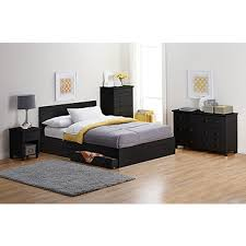 king platform bed with storage drawers. Alcove King Platform Bed With Storage Drawers - Black C