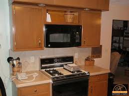 Kitchen Cabinet For Microwave Retrofitting Kitchen For Over The Range Microwave