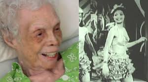 102 y/o Dancer Sees Herself on Film for the First Time - YouTube