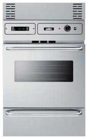 24 electric wall oven stainless steel