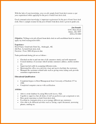 Best Housekeeping Resume With No Experience Gallery Resumes And