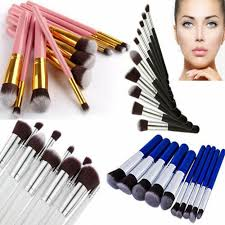 oval makeup brush set soft oval brushes