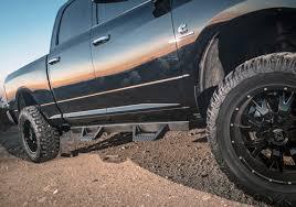 ICI Dodge Ram Black Powder Coat Magnum RT Side Steps - AutoTruckToys.com
