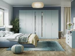 fitted bedrooms liverpool. Matt Powder Blue Fitted Bedrooms Liverpool With Integrated Handle And Frosted Glass Feature Doors. This \ O