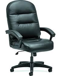 hon pillow soft chair. HON The Company HON2095HPWST11T Pillow-Soft Chair, EXECUTIVE HIGH-BACK, SofThread BLACK Hon Pillow Soft Chair X