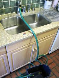 Kitchen Sink To Garden Hose Adapter Attach A Garden Hose To A Kitchen Faucet Gardens Kitchen