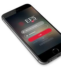 ability to manage cards and funds remotely from any iphone ipad or android device or smartphone visit the app or google play and search efs to