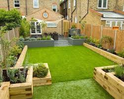 garden designs. Backyard Design Ideas Garden Sleepers Raised Beds Designs N