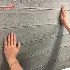 Großhandel 3d Holz Wandaufkleber Wohnkultur Pe Schaum Wasserdichte