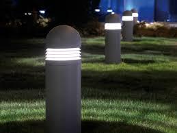 garden bollard lighting. Bollard Lights Contemporary Ideas Garden Lighting