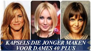 Kapsels Die Jonger Maken Voor Dames 40 Plus