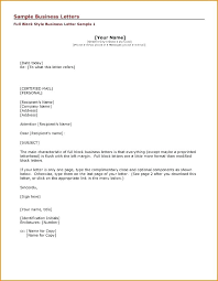Business Letter Example Printable Formal Format Expense Report ...