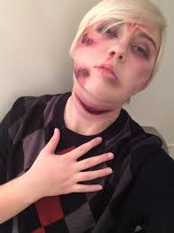 forgive me demonic possession gore sfx makeup by actualforestprince