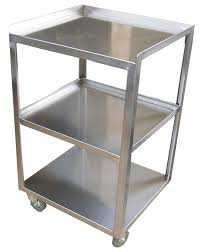 picture of ita s9 stainless steel trolley