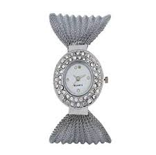 Buy Shiv <b>Fashion Silver</b> Colour <b>Full</b> Round <b>Diamond</b> Studded White ...