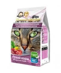 <b>Сухой корм Ночной</b> Охотник для стерилизованных кошек и ...