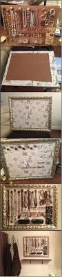 Pegboard Jewelry Organizer --- 1) Pick your frame and fabric 2) Get