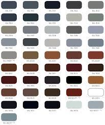 Ral Color Chart – Aluminum Glass Cabinet Doors